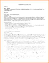 11+ Career Objective Resume Example | Receipts Template