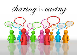 sharing is caring share our your friends and family  6