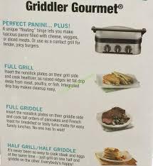 pdf cuisinart 5 in 1 griddler manual e book