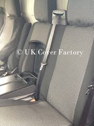 get ations ford transit custom van seat covers limited trend sports oem charcoal black with