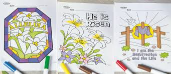 Free Easter Sunday School Coloring Pages
