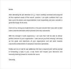 Following Up On Job Interview Follow Up Letter After Resume Thank You Job Interview Coachdave Us