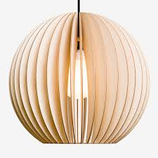aion xl wood lamp wood pendant light