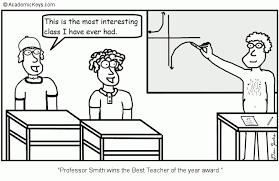 Cartoon 11 Professor Smith Wins The Best Teacher Of The
