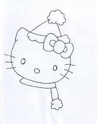 Hello Kitty Da Colorare Per Bambini Con Lavoretti Di Natale Per