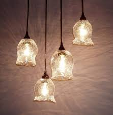 custom made tuffo clear le pendant lights