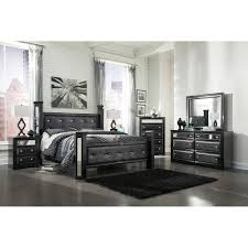 Poster Bedroom Furniture King Uph Poster Bed 5 Pc Bedroom Package