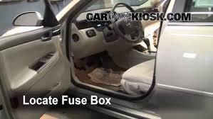 interior fuse box location 2006 2016 chevrolet impala 2008 2006 pontiac grand prix fuse box location at Pontiac Grand Prix 2006 Fuse Box Trunk Location