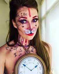 alice white rabbit makeup