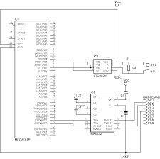 the sample above uses a mega161 or mega162 which has 2 uarts this way you can have both a rs232 and rs485 interface