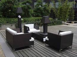 image black wicker outdoor furniture. Full Size Of Patio \u0026 Garden:furniture Luxury And Modern Outdoor Design Idea With Comfortable Image Black Wicker Furniture C