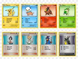 peta pokemon cards pokemons names and