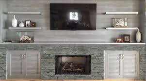 multi functional fireplace with storage