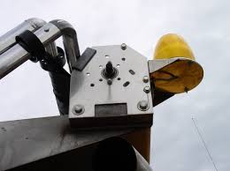genesee county road commission 12 strobe light brackets see picture