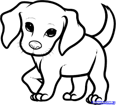 How You Draw A Cute Dog