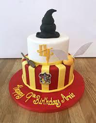 Harry Potter Birthday Cake The Cakery Leamington Spa
