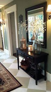 ideas for foyer furniture. Entry Foyer Ideas Painted Floor Makeover Furniture For I