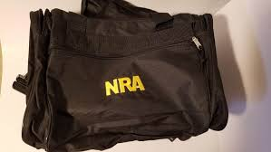 nra duffle bag membership gift quality