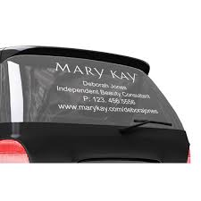 car letter decals vinyl letter car decal mary kay connections