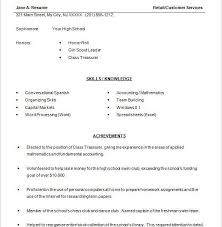 Examples Of High School Resumes Awesome Sample Of High School Resume Kenicandlecomfortzone Throughout