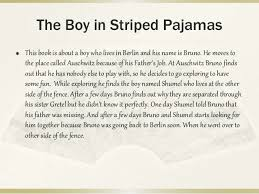 the boy in the stripped pajamas lessons teach the boy in the striped pajamas final project