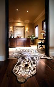 animal hide rugs black rug faux friendly in