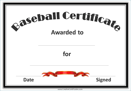 Certificates For Sports Rome Fontanacountryinn Com