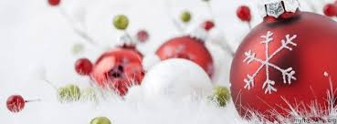 Christmas Baubles on Tree Cover CoverFacebook Covers, Timeline ...
