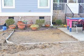 concrete slab patio makeover. Plain Patio Preparations To Extend A Cement Patio With Concrete Slab Patio Makeover