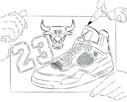 878x702 shoes coloring pages bull basketball shoes coloring pages enjoy