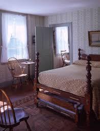 Southwest Bedroom Preserving The Ebenezer Alden House In Historic Maine Old House