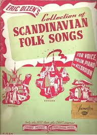 Eric Olzens Collection Of Scandinavian Folk Songs Accordion Songbook