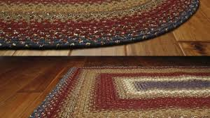 trend braided rugs 8x10 log cabin cotton primitive home decors