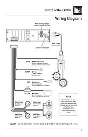 for dual car stereo wiring diagram radio or head unit philteg in  at Dual Xdm 16 Bt Installation Wiring Harness Diagram