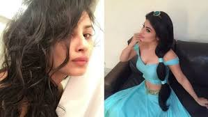 in the whole tv industry nowadays is none other than mouni she is probably the reason mehwish hayat without makeup