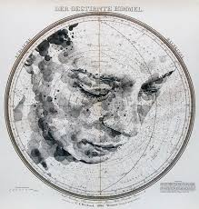 New Map And Celestial Star Chart Portraits By Ed Fairburn