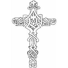 Small Picture Crosses Coloring Pages