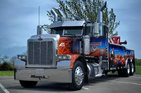 Marvins Big Rig Cars Tribute Tow Truck Photograph by Tim McCullough