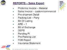 pi proforma invoice ppt marketing sales system module powerpoint