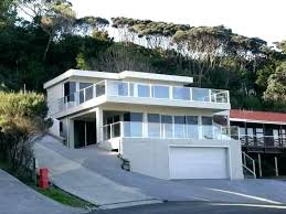 adorable steep hillside home plans architectures unique houses on sloping groundside homes you