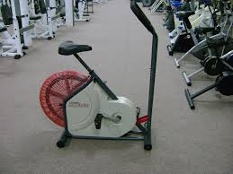fan exercise bike. lifestyler tailwind upright exercise bike fan