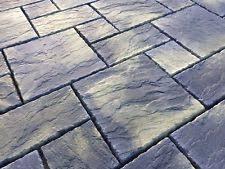 patio stones. Charcoal York Paving Concrete Patio Slabs 10sqm Stones