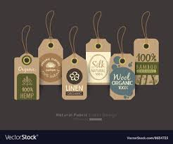 Clothing Tag Label Design Eco Friendly Fabric Cloth Tag Labels
