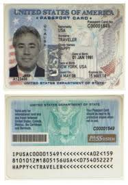 Cards s Look At Passport U A