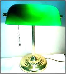 green glass desk lamp shade banker bankers nz encha