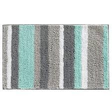 non slip bathroom rug mat microfiber shower bath rug absorbent bath mat for bathroom machine washable 18 26 blue grey wantitall
