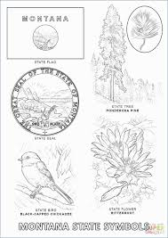 Oklahoma State Coloring Pages Luxury State Symbols Coloring Pages