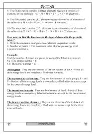 chemistry 2nd sec full sheet