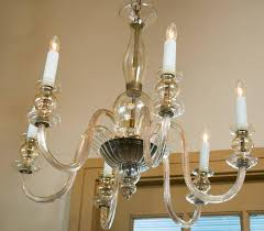 vintage six arm moderne style blown glass chandelier from murano italy unusual shape