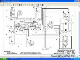 Clark Forklift Wiring Schematic Clark ECS25 Wiring Diagrams